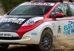 Nissan LEAF vs Mongol Rally 2017