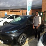 Mofoluwaso, valued E-Car Club member at Elmsbrook